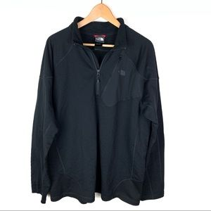 The North Face Black Half ZIP Pullover XXL Men's